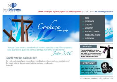 Site da Igreja Metodista Livre de Diadema